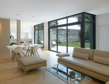 Agencement et décoration d'une maison contemporaine