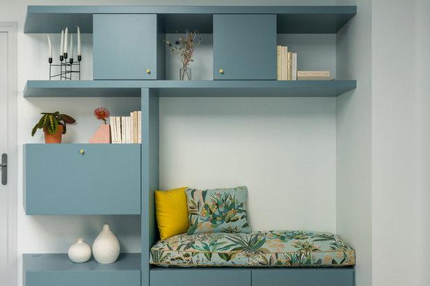 Contemporain Salon by Adeline Pithois-Guillou