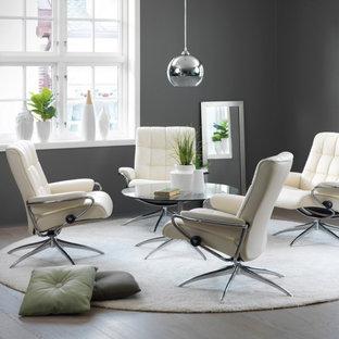 Idée de décoration pour un salon design.