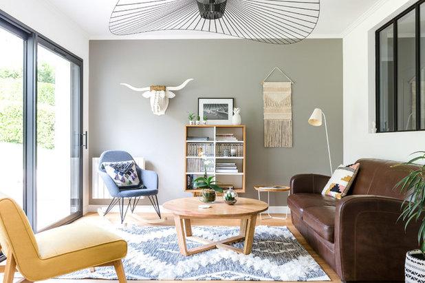 Skandinavisch Wohnbereich by Atelier AÖKIE | Edwige de VATHAIRE