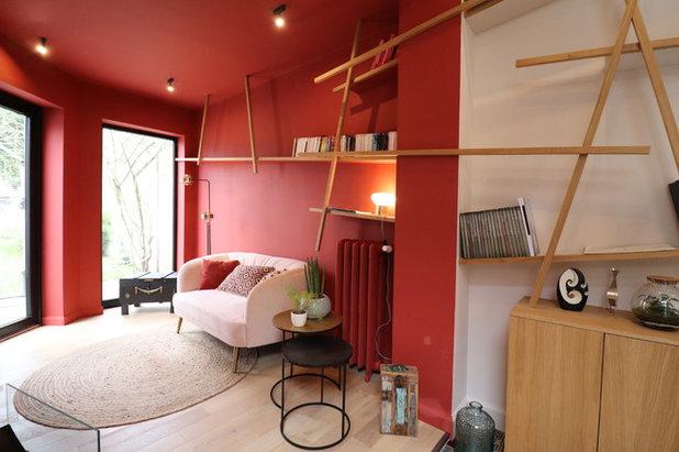 Modern Wohnbereich by L&D Intérieur