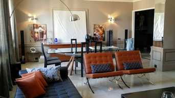 aménagement d'un grand salon