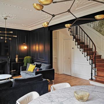 Aménagement d'une maison dans un style Haussmannien