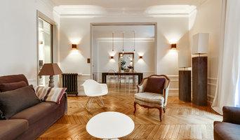 Aménagement et agencement d'un appartement Haussmannien de 110m2 Paris 6