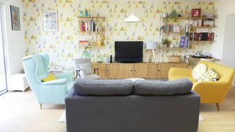 Aménagement et décoration d'une pièce de vie après extension