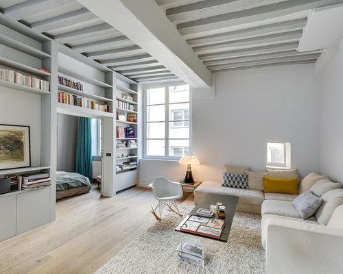 Ultramodern Living Room   Houzz