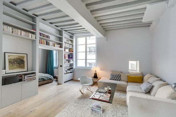 Scandinavian Living Room by tatiana nicol