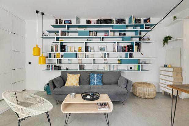 Scandinave Salon by Juliette Breton