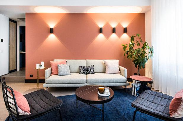 Contemporain Salon by Agence hivoa