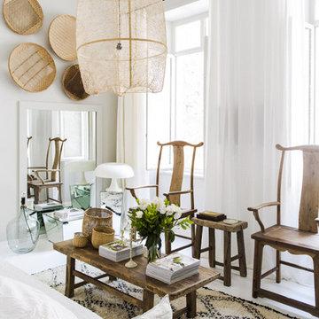 Appartement blanc Lyon