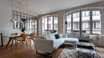Appartement de 90m2 Paris 3