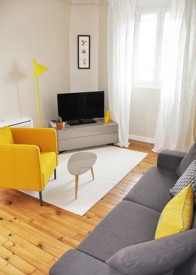 comment installer son t l viseur dans un angle. Black Bedroom Furniture Sets. Home Design Ideas