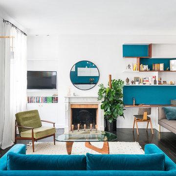 Appartement duplex de 90m2, Paris 2ème