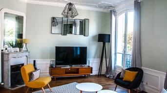 Appartement duplex en banlieue parisienne