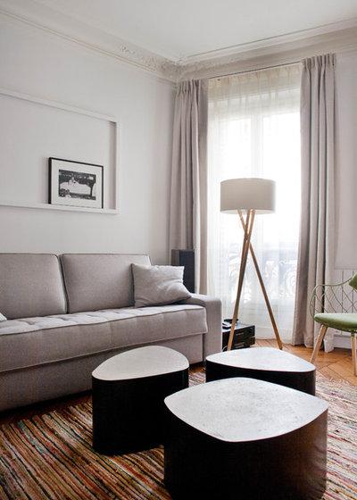 Contemporain Salon by Olivier Chabaud Architecte - Paris & Avignon