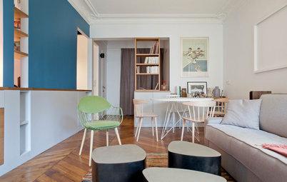 Visite Privée : Agencement de haut vol dans un appartement parisien