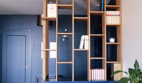 Aménagement : La bibliothèque joue les claustras