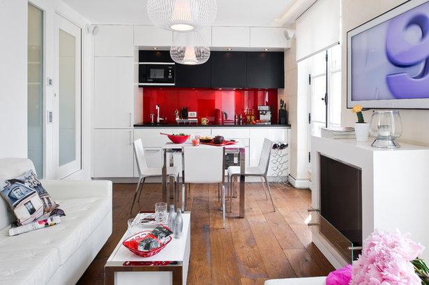 Contemporain Salon by Manuel Sequeira Architecte D.P.L.G