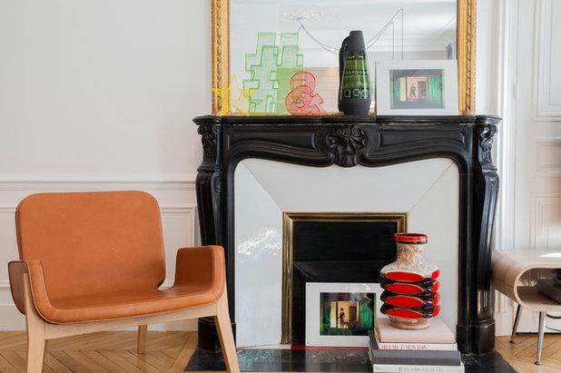Contemporain Salon by NOOOR architecte d'interieur