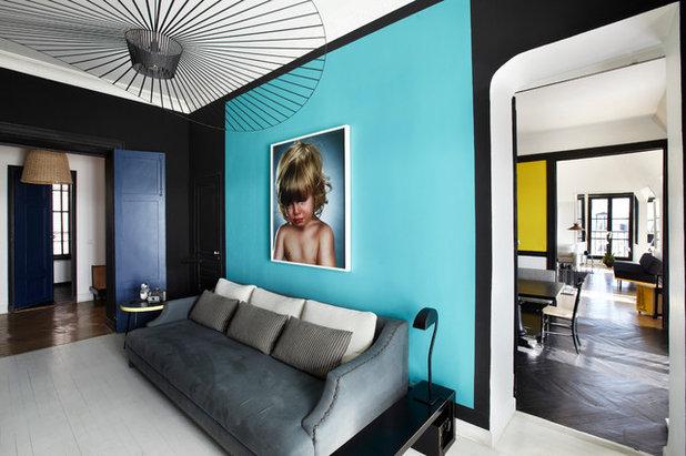 コンテンポラリー リビング by Sarah Lavoine - Studio d'architecture d'intérieur