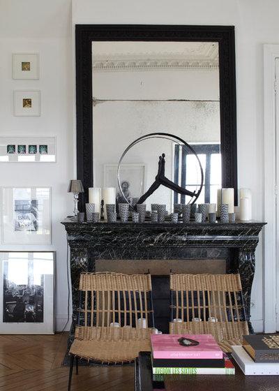 Visite priv e un appartement typiquement parisien sign sarah lavoine - Sarah lavoine appartement ...