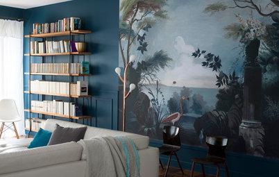 Photothèque : 36 papiers peints métamorphosent les salons