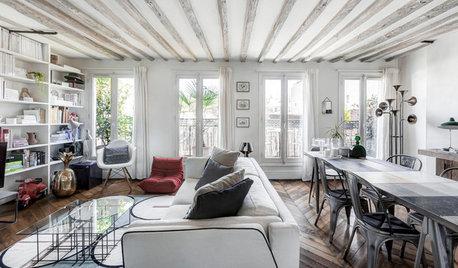 Houzzbesuch: Ein Pariser Paar lebt klein aber fein auf 47 qm
