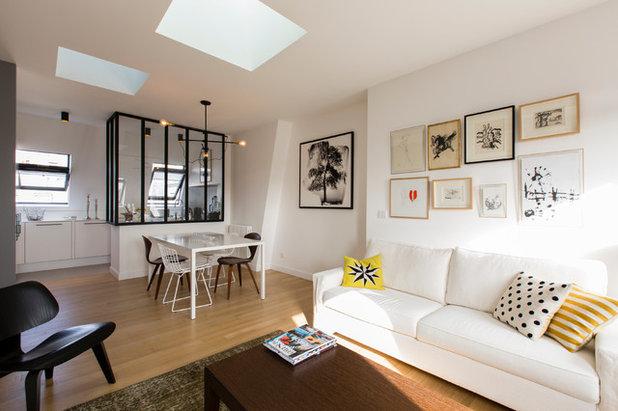 Skandinavisch Wohnbereich By Philippe Demougeot
