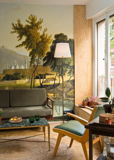 Éclectique Salon by Atelier Olivier Bourdon
