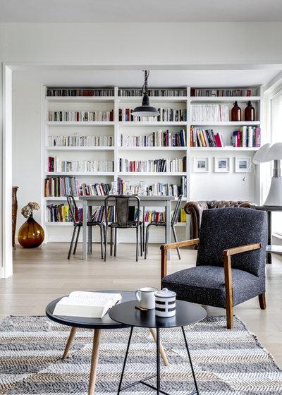 Contemporain Salon by InDé - créateurs d'identités