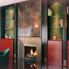 Contemporary Indoor Fireplaces by BLOCH DESIGN