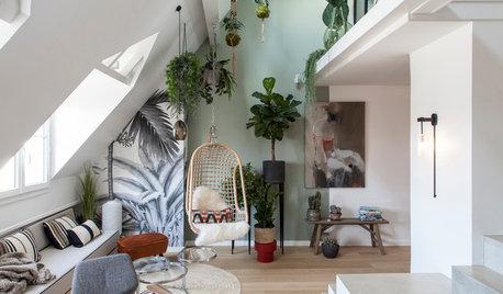 Paris Houzz Tour: A Light-Filled Loft With an Indoor Garden