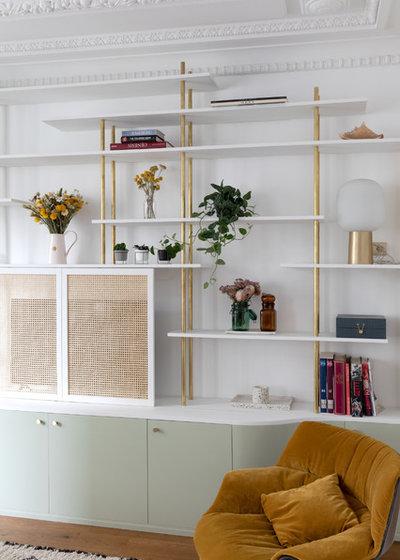 Contemporain Salon by Charlotte Fequet