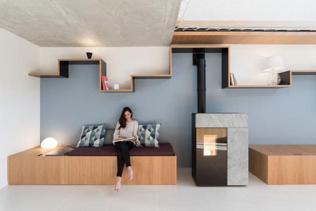 Современный Гостиная by Martins Afonso atelier de design