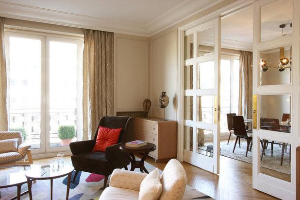 13 astuces pour d limiter diff rents espaces dans une. Black Bedroom Furniture Sets. Home Design Ideas