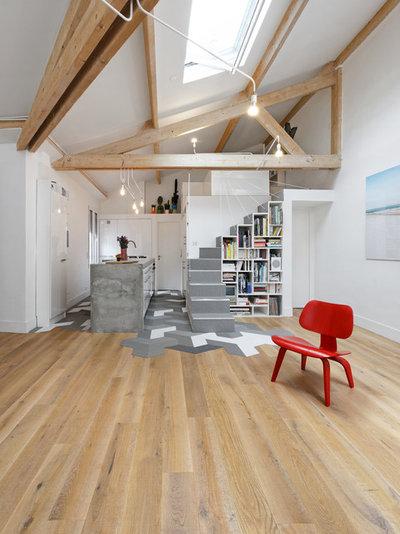 Modern Wohnbereich by Multiarchi