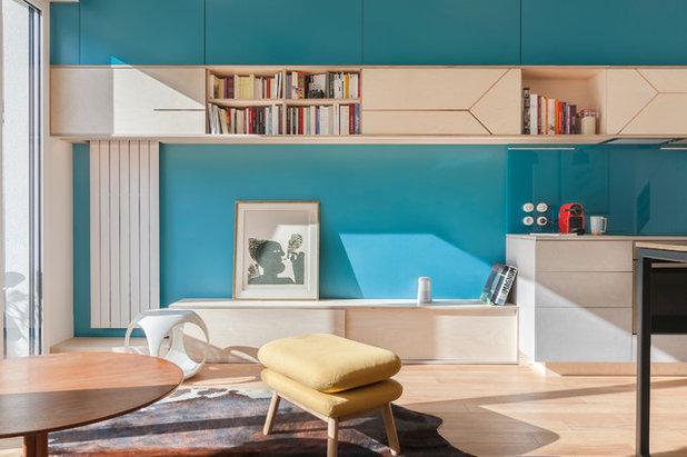 Contemporain Salon by Agence Glenn Medioni