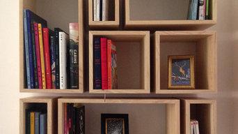 Bibliothèque cubes