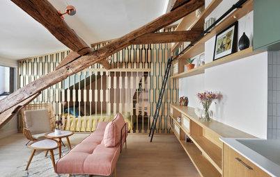 Visite Privée : Un 32 m2 parisien gagne une chambre et du style