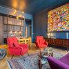 Visite Privée : Accord en bleu majeur pour un appartement XIXᵉ