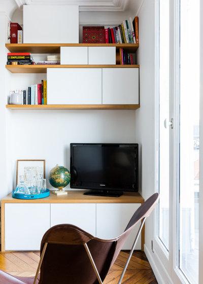 Contemporain Salon by Mon Plan d'Appart
