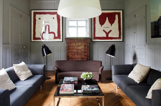 Contemporáneo Salón by Pierre Jean Verger