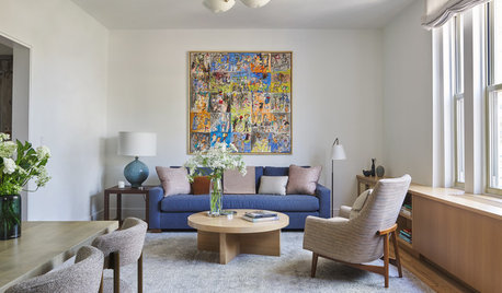 White-and-Wood Makeover for a Brooklyn Pied-à-Terre