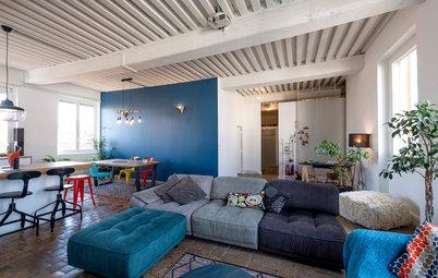 Visite Privée : Belle rénovation d'un appartement canut à Lyon