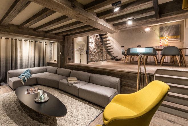 Visite privée : Un chalet historique au design contemporain ...