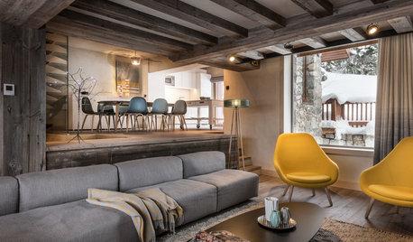 Visite Privée : Un chalet historique au look contemporain à Méribel