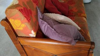 Changement de couverture pour cet ensemble de canapés et fauteuil