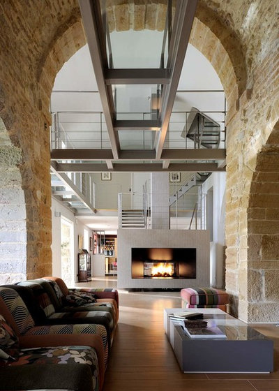 Industriel Salon by Volumes Architectures