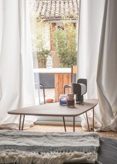 Contemporain Salon by Jours & Nuits