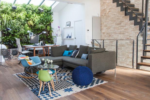 maison objet des tapis au graphisme marqu. Black Bedroom Furniture Sets. Home Design Ideas